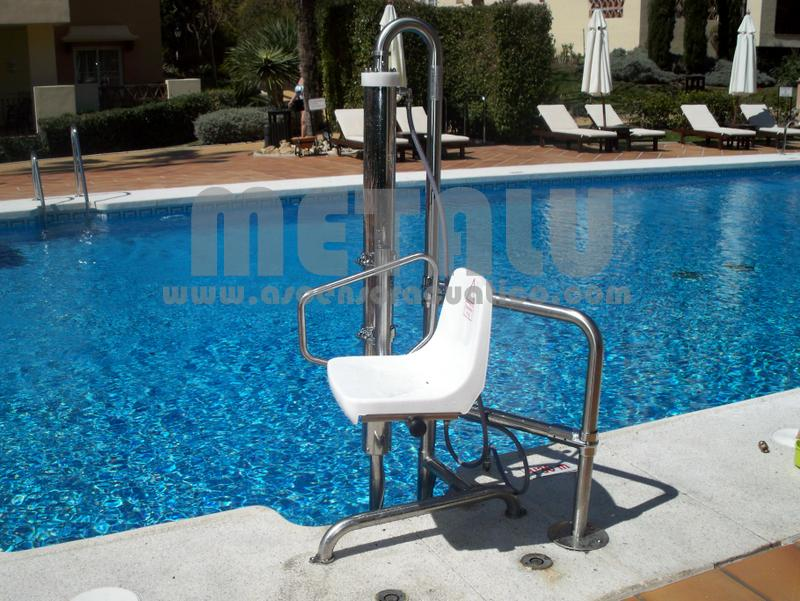 Elevador hidraulico Metalu B-2, Apartamentos Club Marriot (Marbella)