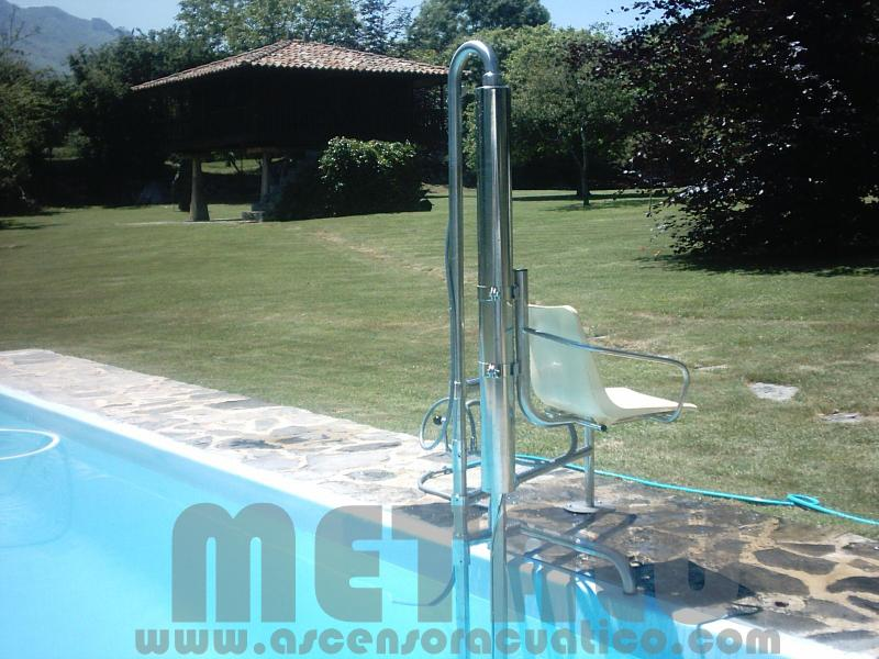 Elevador hidraulico Metalu B-2. Asturias
