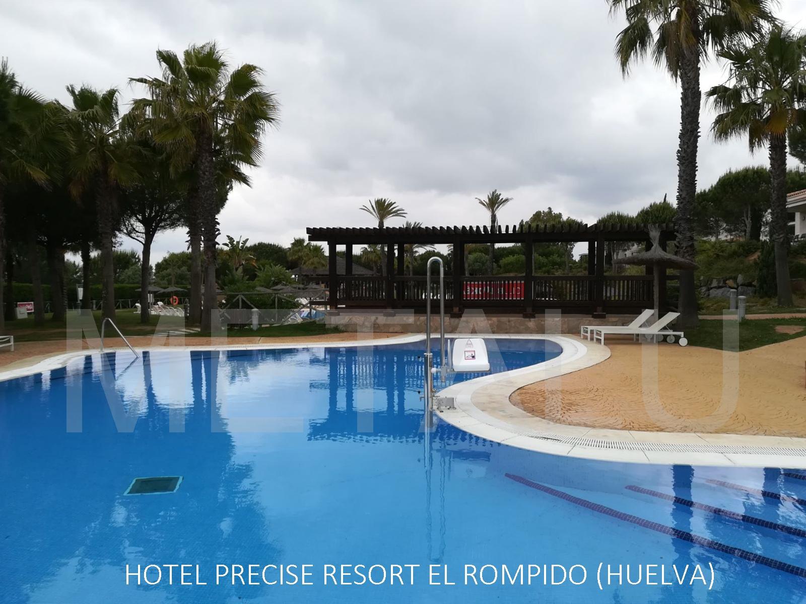 acceso discapacitados piscina hotel resort el rompido huelva