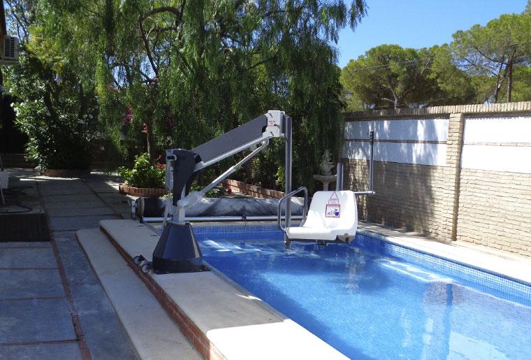 elevador metalu 3000 piscina