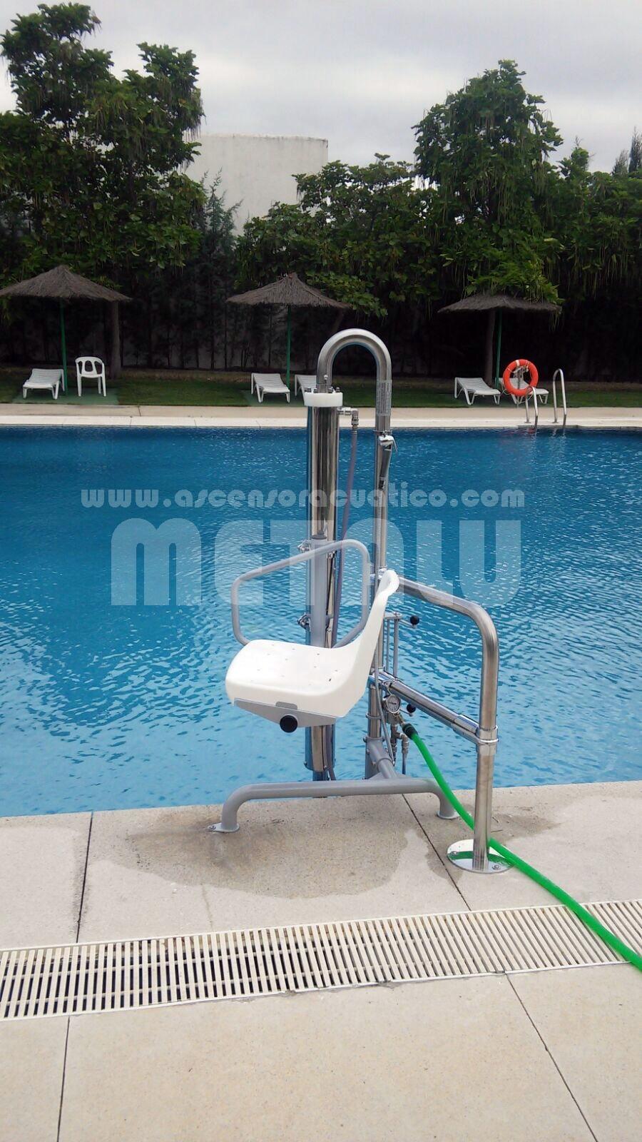 elevadores para piscina