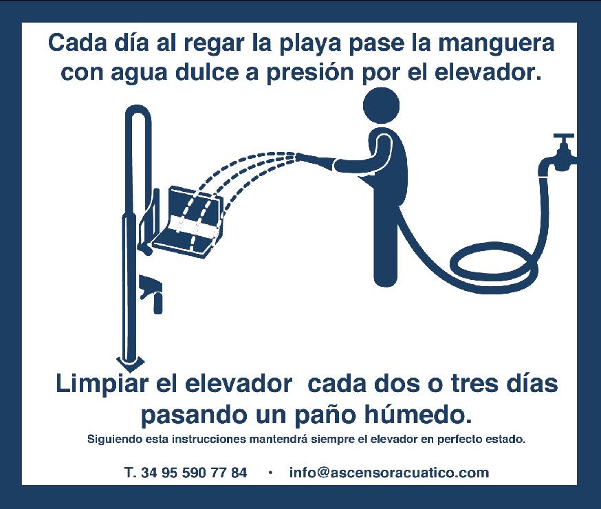 Cómo limpiar un elevador acuático